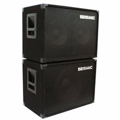 """Seismic Audio - 1x15 & 2x10 BASS GUITAR SPEAKER CABINET COMBO PRO AUDIO by Seismic Audio. $314.99. Model #: SA-115  Woofer: One 15"""" - with a 50 oz magnet and a 2.5"""" Kapton voice coil  300 Watts RMS, 600 Watts Peak  Impedance: 8 Ohms  Frequency response: 40Hz - 5000Hz  Sensitivity: 96 db  5/8"""" plywood front panel  Black carpet with black metal corners  Recessed Handle  Full Metal Grill  Terminal cup with two 1/4"""" inputs  Dual Ports (both in the middle)  HxWxD: 18"""" x 25"""" x 14""""..."""