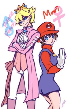 Prince Peach and Female Mario Next Halloween? Mayyyyybe!