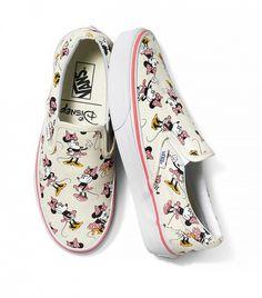 Vans x Disney Authentic Minnie Mouse Sneakers