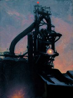 2007 selected paintings from Postcards from Detroit