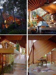 Amazing Wooden Home- Walstrom House by John Lautner | http://www.designrulz.com/design/2013/02/amazing-wooden-home-walstrom-house-by-john-lautner/
