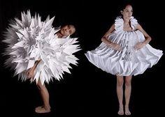 Mauricio Velasquez Posada origami dresses! I love the craftmanship!