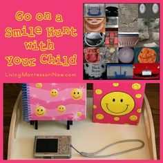 Go on a Smile Hunt with Your Child ~ well if he would only be home long enough for me to tell him that we are going! Love this idea tho! Pre K Activities, Preschool Learning Activities, Kids Learning, Learning Centers, Fall Preschool, Preschool At Home, Teach Preschool, Safari, World Smile Day
