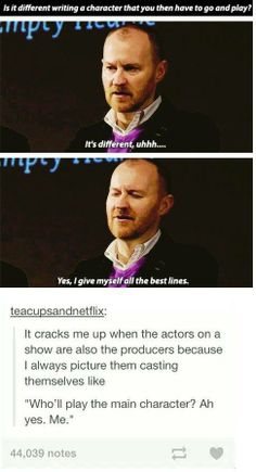 Oh, Mark... :D Stop. Stop being great. It's not... you shouldn't. You just can't.