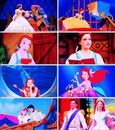 Beauty and the Beast and The Little Mermaid Broadway