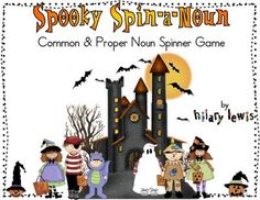 common and proper noun spinner! freebie
