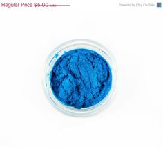 New to ParloCosmetics on Etsy: SALE PANDEMONIUM / Natural Mineral Eye Shadow / Shocking Blue Eye Shadow / Blue Mica Pigment / Gifts for Her (3.00 USD)