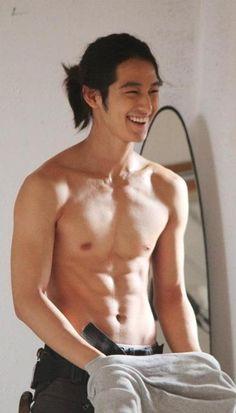 Kim Bum + abs // Boys Over Flowers Kim Bum, Jung Hyun, Hyun Woo, Sexy Asian Men, Sexy Men, Korean Men, Korean Actors, Korean Celebrities, Jun Matsumoto