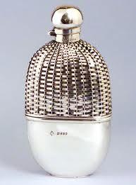 Elegant antique flask