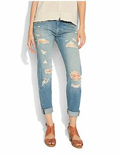 comfiest boyfriend jeans EVER ...luv them so much i bought them twice.  #luckyjeans