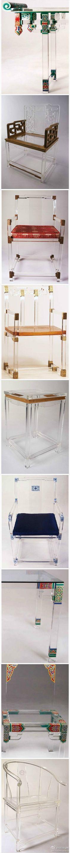中式風格家具在新材料下的詮釋,現代新材料...