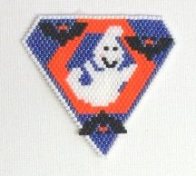 Peek-a-Boo Pendant by Bead Art by Ronit