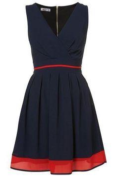V Neck Dress Pattern Free More More