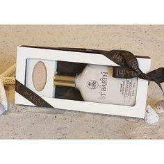 "Set ""Tiaré"". Diese Geschenkschachtel enthält 1 Traveller size 125 ml & 1 Seife 40 g:    •  Body Lotion ""Tiaré""    •  Seife ""Tiaré"""