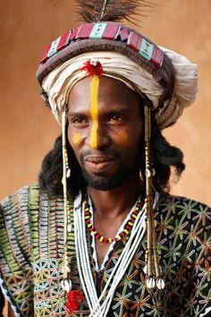 Wodaabe Dancer - Niger, Africa
