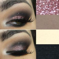 #pinkglitter #pinkeyes #glittereyes
