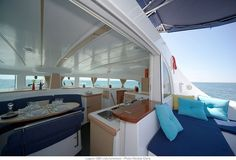 Lagoon 480 interior and exterior