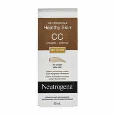 Neutrogena® CC Cream Body Confidence, Cc Cream, Neutrogena, Beauty Stuff, Healthy Skin, Drugs, Beauty Makeup, Suitcase, Beauty Products