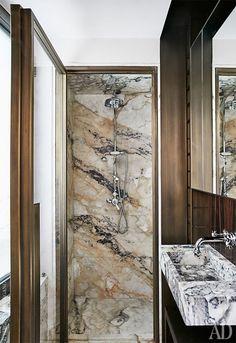Двухуровневая квартира в Риме, 70 м²