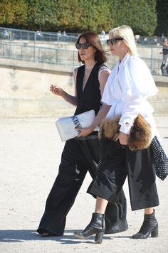 Street style Paris Fashion Week2015