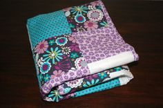 Baby Girl Patchwork Quilt Michael Miller Lazy by BirdySueSews, $52.00