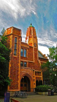 Music Building, University of Washington by Curtis Cronn, via Flickr