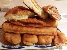 Πιροσκί με ζαμπόν και τυρί My Favorite Food, Favorite Recipes, Sausage, French Toast, Food And Drink, Meat, Cooking, Breakfast, Kitchens