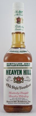 Heaven Hill Old style Kentucky straight Bourbon Whiskey.