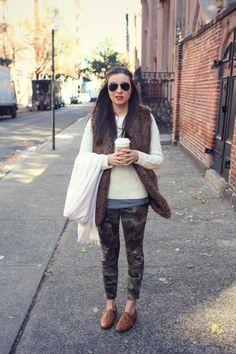 shut up, i love that shirt on you: {quick outfit post} the perfect camo jeans...