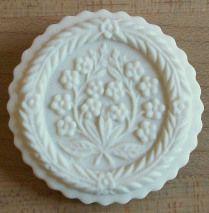 Cookie made with Heidenheim Flower mold #1843