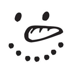 Snowman Face Stencil | Sarasota Stamps Mounted Rubber Stamp: Snowman Face :: Stamps ...