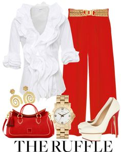 """""""The Ruffle"""" by sandgirl-435 on Polyvore"""
