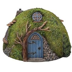 Fairy garden houses aren't just for fairies – Hobbits needs a place to live as well .