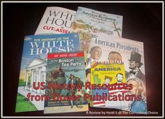 U.S. History Resources from Dover Publications - with giveaway and discount code!