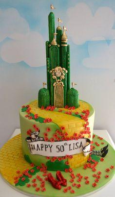 Stupendous Cakes Wizard Of Oz On Pinterest Funny Birthday Cards Online Bapapcheapnameinfo