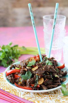 PaleOMG Thai Basil Beef paleo diet transformation