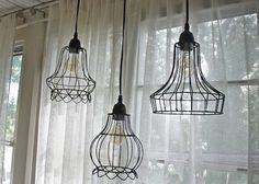Gotta try something like this with lamp shade skeletons
