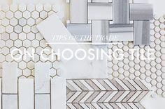 On Choosing Bathroom Tile | Little Green Notebook | Bloglovin'-great article on tile