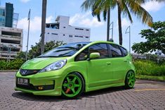 Honda Fit ... that's quite a green
