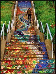 Barr Crutcher Staircase in San Fran, CA