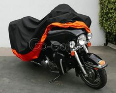 Motorcycle Cover For Harley Street Glide Electra Glide Ultra Classic FLHTCU Road King Touring
