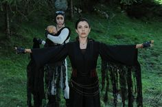 Die beliebten Vampirschwestern sind wieder da und inzwischen hat Familie Tepes Zuwachs bekommen. Der kleine Franz sorgt für ordentlich Aufregung, denn er schwebt in höchster Gefahr. / Die Vampirschwestern 3 - Reise nach Transsilvanien, Foto: Sony Pictures GmbH / Kerstin Stelter