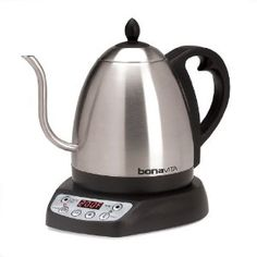 Amazon.com: Bonavita 1-Liter Variable Temperature Digital Electric Gooseneck Kettle: Kitchen & Dining