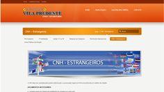Página de CNH Estrangeiros da Auto Escola Vila Prudente - Guarulhos