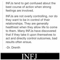 I do like control. But yes, bad things do happen if I try to take control when strong feelings are involved.