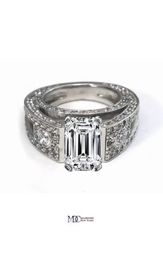 https://www.bkgjewelry.com/multi-gemstone-pendant/950-18k-yellow-gold-diamond-multi-gemstone-elephant-pendant.html Vintage Emerald Cut Diamond Engagement Ring ****** LOVE LOVE LOVE!!!!!!!!!