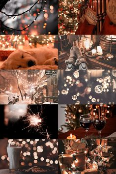 christmas eve aesthetic by Skogsra