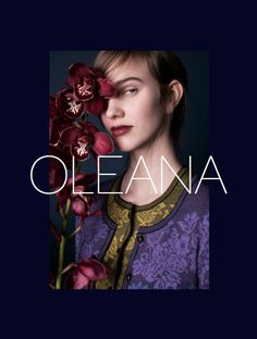 "OLEANA Collection Catalogue Cover ""News AW/14"""