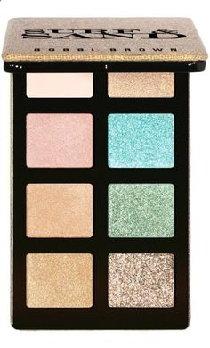 Beautiful, beach-inspired eyeshadow palette that you can wear year-round.