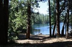 Cherry Lake in California, childhood camping place with my family...